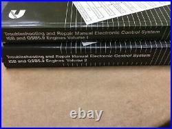 Cummins 5.9 ISB QSB5.9 Diesel Engine Troubleshooting Repair Manuals Volume 1 & 2