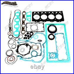 Cummins B3.3 Engine Gasket Kit Main&Rod&Thrust Bearings Piston Rings
