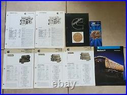 Cummins Diesel Engine Brochure! Lot Of 40! KTA 600 Twin Turbo 475 Peter Kenworth