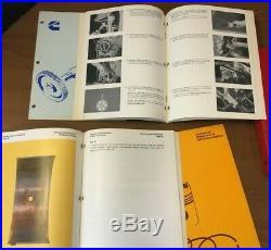 Cummins Diesel Engine Manuals lot 1980 1993