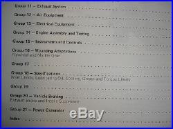 Cummins Diesel Engines Factory SHOP MANUAL V6 V8 378 504 555 Service Book OEM