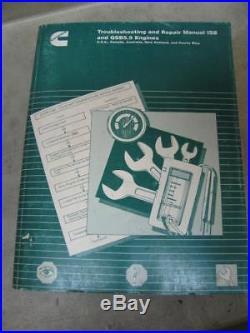 Cummins ISB QSB5.9 Diesel Engine Troubleshooting & Repair Manual