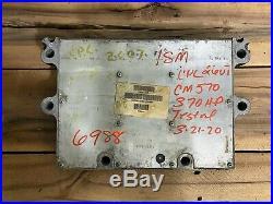 Cummins Ism Ecm Ecu Cpl2607 Non Egr Diesel Engine Computer Part# 3681405 Cm570