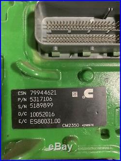 Cummins Isx15/qsx15 Diesel Engine Computer Module Ecm Cm2350 Ecu 5317106 Oem