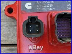 Cummins Isx Ecm, Ecu, Cpl 2732 Diesel Engine Computer Module Egr Part# 3684275