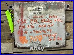 Cummins Isx Ecm Ecu Cpl 8520 Diesel Engine Computer Module Part#3683289