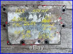 Cummins Isx Ecm Ecu P/n 3408501 500hp Diesel Engine Computer Module Cpl2629