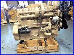 Cummins KTA19 Diesel Engine, 525-600 HP, Good Used Engine, Tested Ready To Go