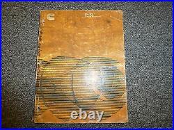 Cummins NH230 NTC230 NTC230S NHF240 NHC250 Diesel Engine Service Repair Manual