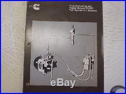 Cummins N-14 Diesel Engine Fuel System Service Troubleshooting Repair Manual