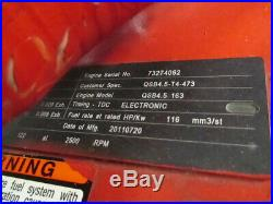 Cummins QSB 4.5L Diesel Engine 163HP 4Cyl Generator Motor Powerplant 4BT REMAN