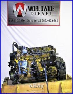 Cummins QSB 6.7 Liter Diesel Engine Take Out, Turns 360, Good For Rebuild Only