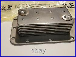 DCEC Cummins 7 Plate Row Oil Cooler WITH Gasket Set 89-97 6B 6BT 5.9 12V