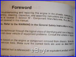 DISC Cummins Diesel SERVICE MANUAL ISC8.3 ISL9 CM2250 Engine Shop New sealed OEM