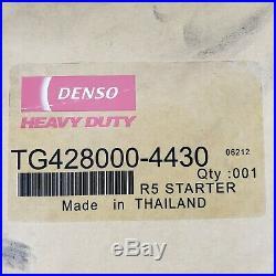Denso R5.0 Starter Fits DDA Cummins Diesel Engine 428000-4430 (SR9920LH) 8200288