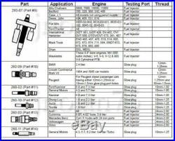 Diesel Engine Compression Pressure Tester for FORD CUMMINS NAVISTAR DETROIT CAT
