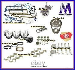 Dodge 5.9 Cummins Diesel 04-08 ENGINE KIT Rings Main+Rod Brgs Oil Pump Pistons