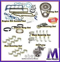 Dodge 5.9 Cummins Diesel 04-08 ENGINE KIT Rings Main+Rod Brgs Oil Pump Timing