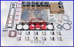 Dodge Cummins Complete Rebuild Kit Fits Large Marine Bowl Piston 5.9 12V 89-98
