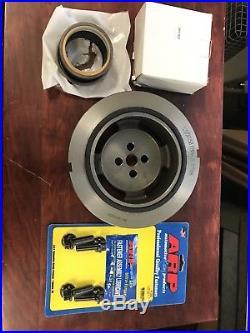 Dodge Ram Cummins Diesel 12v Engine Harmonic Balancer + ARP Bolts + Front Seal