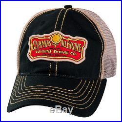 Dodge Ram Cummins Engine Co Diesel Vintage Trucker Cap Hat Oil Mesh Ballcap