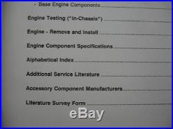 EC Cummins Diesel K19 Engines TROUBLESHOOTING & REPAIR Manual Service Shop Mint