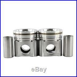 Engine Piston Set-VIN C, DIESEL, OHV, Turbo, Cummins, 24 Valves DNJ P1166A