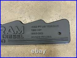 Engine Valve Cover Top Plate Trim 1992 12 Valve Dodge Ram Cummins Diesel 5.9L