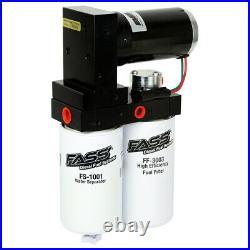 FASS Titanium 250GPH Lift Pump & Fleece Fuel Filter Delete For 2010-2018 Cummins