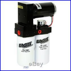 FASS Titanium 250GPH Lift Pump Sump Fleece Fuel Filter Delete For 05-07 Cummins