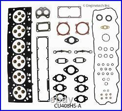 Fits 2007-2012 DODGE 408 6.7L 24V CUMMINS DIESEL ENGINE RE-RING REBUILD KIT