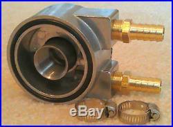 Ford Ram Cummins Diesel Full Flow Engine Oil Cooler Sandwich Adapter Kit+Fitting