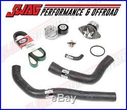 Gates Cooling System & Belt Kit for 98-02 Dodge Ram 5 5.9L Cummins Diesel Engine