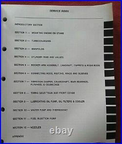 Genuine Navistar International Dt 466 Dta 466 Diesel Engine Service Manual 1990