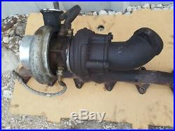 Holset 2001 Cummins Dodge 2500 Diesel Engine turbo CHARGER AND manifold USED