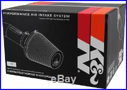 K&n Cold Air Intake For 03-07 Dodge Ram Cummins Diesel 5.9l Blackhawk Dry Filter