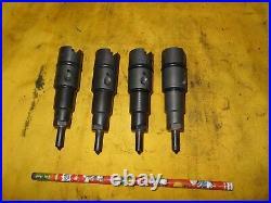 LOT of 4 CUMMINS INJECTORS 0432193645 diesel truck engine 3.9 5.9 4bt 6bt