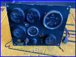 Marine Diesel Engine Gauge Panel For John Deere, Cummins, Perkins