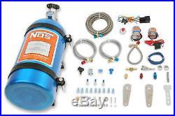NOS Single Fogger Wet Nitrous Multi-Point EFI Engines With 10 LB Blue Bottle