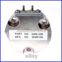 New Actuator 3408326 Normally Closed Diesel Engine Parts 24V For Cummins