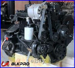 New POWER UNIT Original Cummins 125 HP Engine complete Set 3.9L B3.9 4B No Core