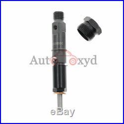 New Set of 4 Diesel Fuel Injectors For CUMMINS 4BT Engine 4928990 390KAL59P6
