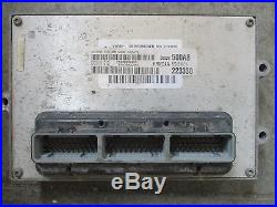 OEM 2001 Dodge Ram Cummins Diesel PCM Engine Computer 56028500ab