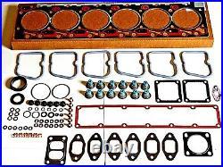 OVERSIZED +. 020 Complete UPPER Head Gasket KIT for Cummins 89-98 12V 5.9 6BT