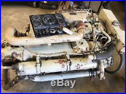 Only 3621 Hrs Cummins Marine 6bta Diesel 260 HP Engine Shipping Available Video