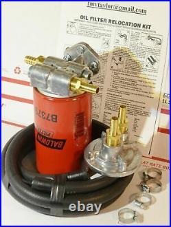 RAM Cummins Diesel 6.7/5.9 Single Remote Engine Oil Kit with Hose NO Filter