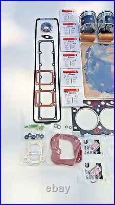Rebuild Kit STD SIZE TEFLON PISTONS WITH. 020 HEAD GASKET 94-98 Cummins 12V 6BT