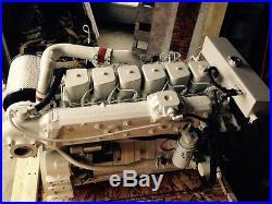 Rebuilt Cummins Marine 6bt Diesel 210 HP Engine USA Shipping Available