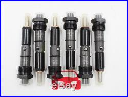 Set of 6 Fuel Injector Fit Cummins 5.9L 6BT Diesel Engine 0432131837