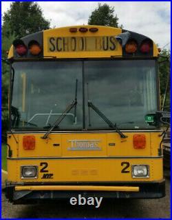 Thomas School Bus RV Motorhome Camper Tour BUS 5.9L Cummins Turbo Diesel Engine
